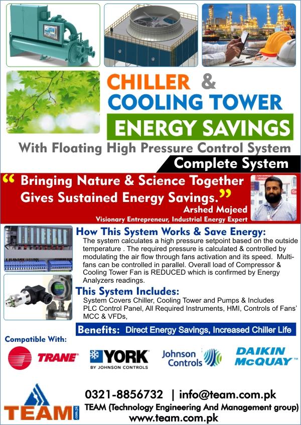 TEAM Chiller Savings