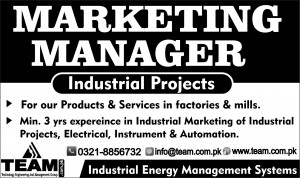 Mktg Manager 2 column x 5cm