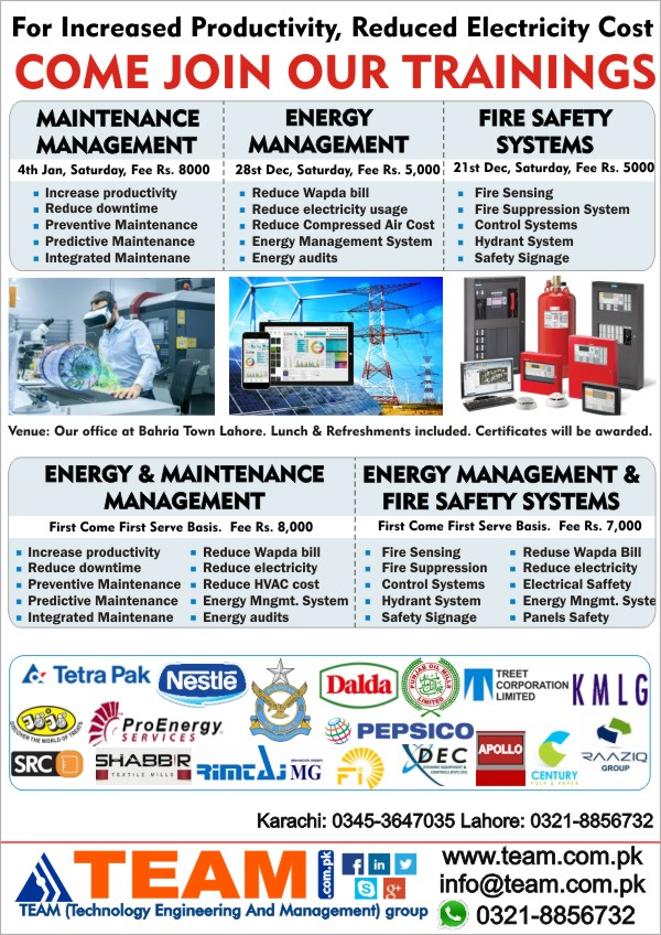 TEAM EMS Safety Trainings 2019